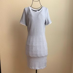 H&M Grey T-shirt Dress